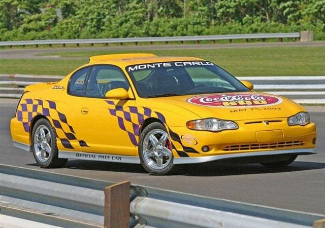 2003 Chevrolet Monte Carlo Coca Cola 600 Pace Car Picture