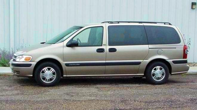 Left Side 2004 Chevrolet Venture Minivan Picture