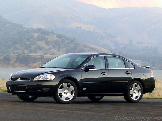 Front left Black 2005 Chevrolet Impala SS Car Picture