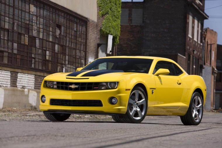 Front Left 2010 Chevrolet Camaro Special Edition Car Picture