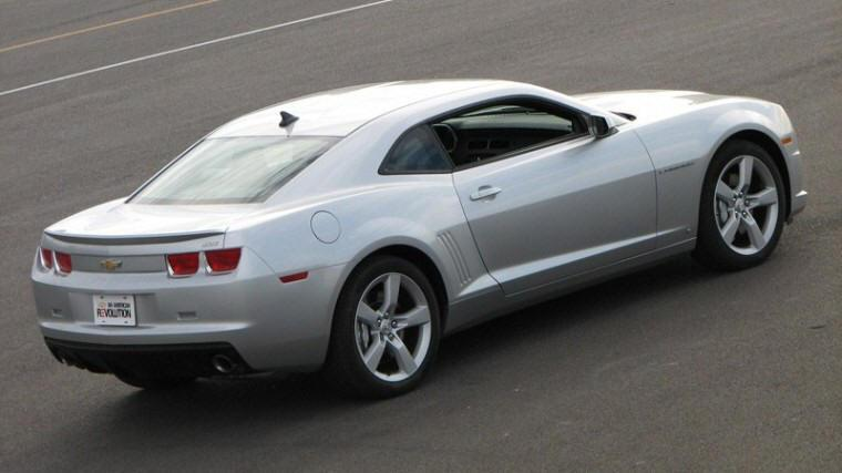 Right rear 2010 Chevrolet Camaro SS Car Picture