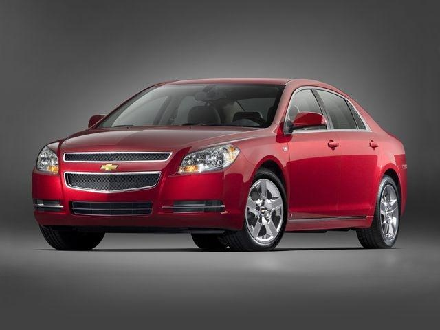 Front Left 2010 Chevrolet Malibu Car Picture