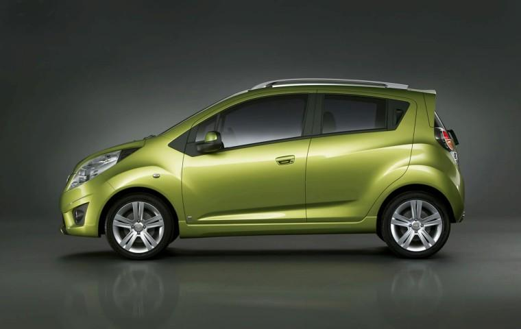 Left Side 2010 Chevrolet Spark Car Picture