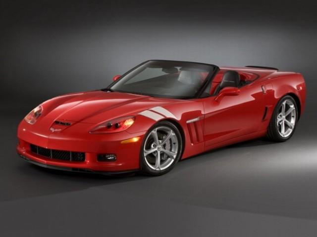 Front Left 2010 Chevrolet Corvette Grand Sport Car Picture