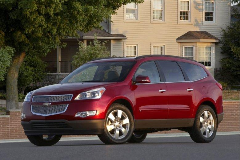 Front Left 2011 Chevrolet Traverse SUV Picture