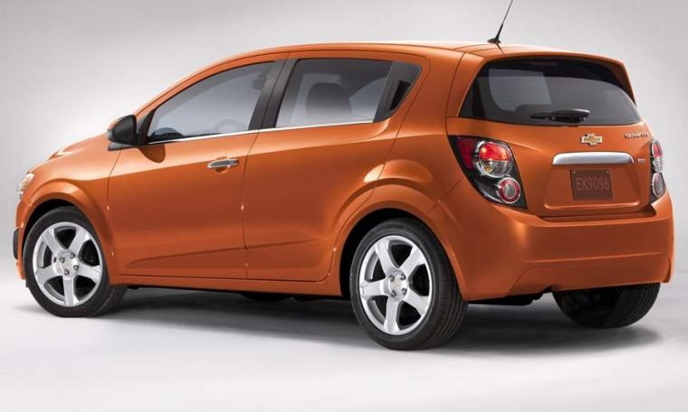 Rear Left 2012 Chevrolet Sonic CUV Picture