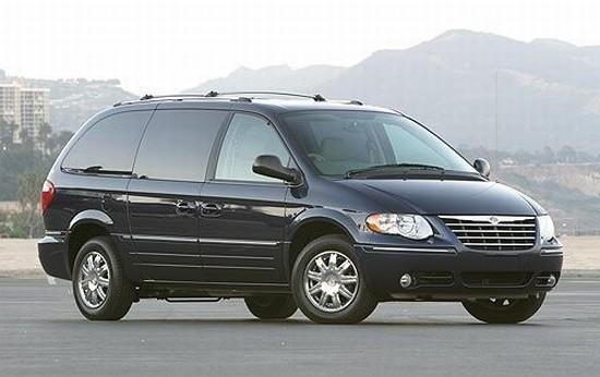 black 2005 chrysler town and country minivan picture. Black Bedroom Furniture Sets. Home Design Ideas