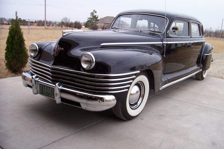 Front Left 1942 Crown Imperial Car Picture