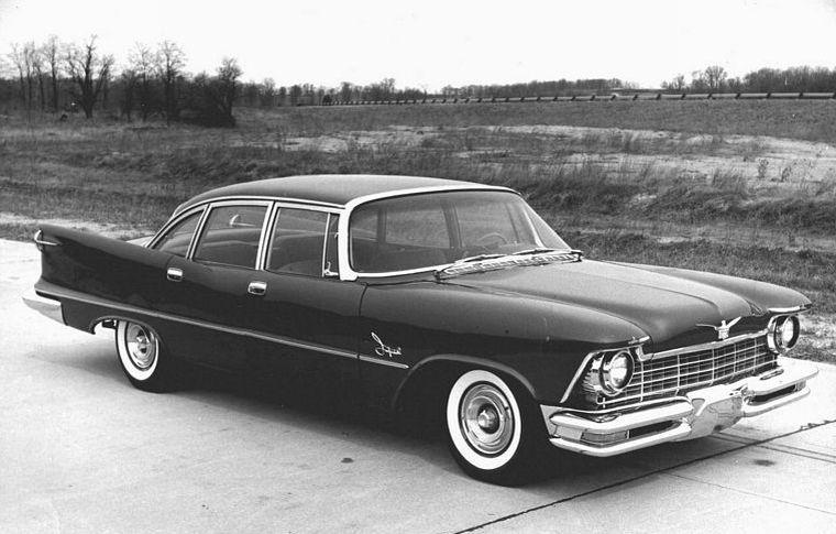 1956 Chrysler Imperial Crown Sedan Car Picture