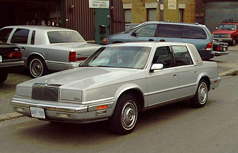 Front Left 1990 Chrysler New Yorker Car Picture