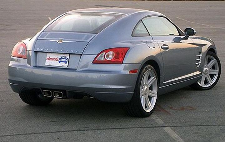 Rear Right 2004 Chrysler Crossfire Car Picture