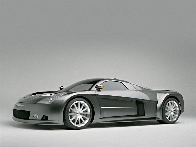Front Left 2004 Chrysler ME Concept Car Picture