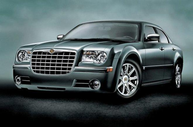 Front left Green 2005 Chrysler 300C Car Picture