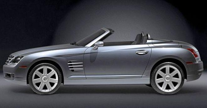 Chrysler Crossfire Roadster. 2005 Chrysler Crossfire