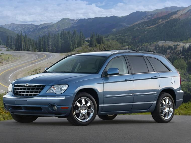 Front Left 2007 Chrysler Pacifica CUV Picture