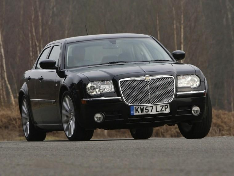 Front View 2010 Chrysler 300C SRT Car Picture