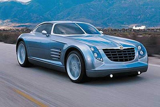 Front Right Chrysler Crossfire Concept Car Picture