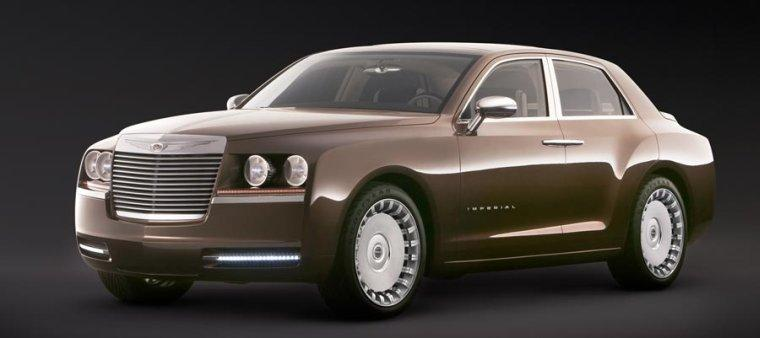 Front left 2006 Chrysler Imperial Concept Car Picture