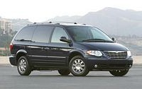 2005 Chrysler Town and Country Minivan