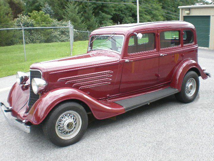 Front Left 1934 Dodge Brothers Car Picture
