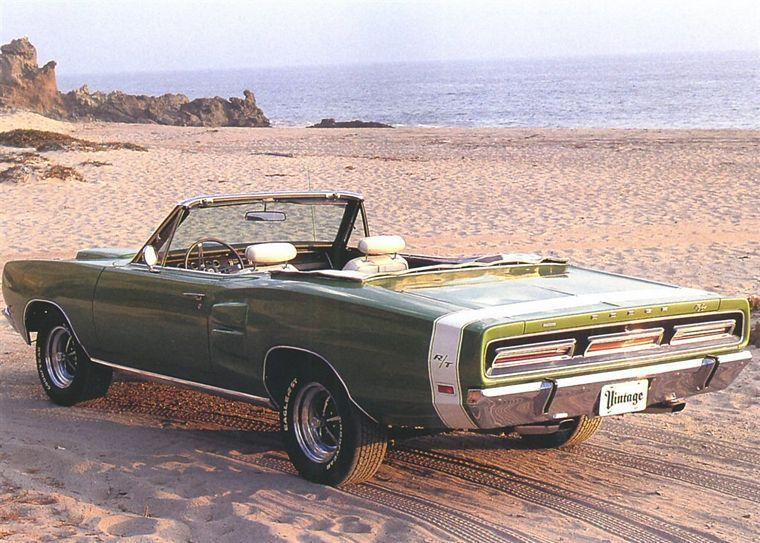 Rear Left 1969 Dodge Coronet Car Picture