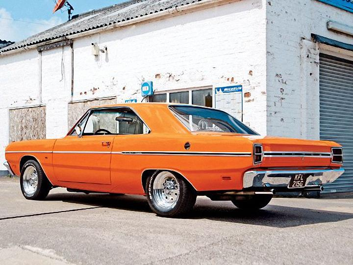 Rear Left 1969 Dodge Dart Car Picture