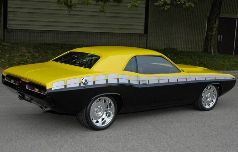 Rear Right 1970 Dodge Challenger Car Picture