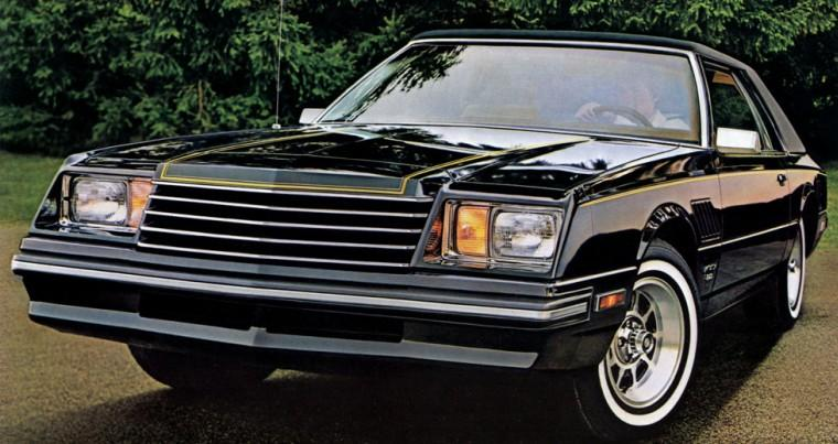 Front View 1982 Dodge Mirada Car Picture
