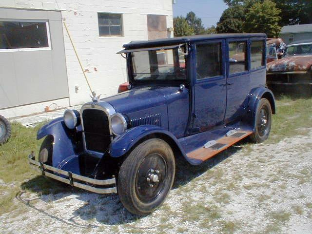 Front left blue 1925 Dodge Brothers Series A Car Picture