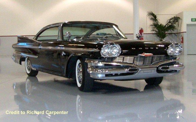 1960 Dodge Polara the Carpenters Car Picture
