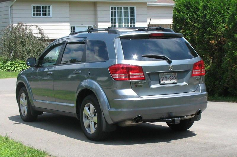 Rear left 2009 Dodge Journey SXT CUV Picture