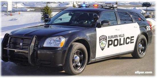 2005 Dodge Magnum Police Car Picture