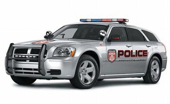 2006 Dodge Magnum Police Car Picture