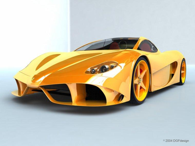 Ferrari Aurea Berlinetta by DGF Design Car PIcture