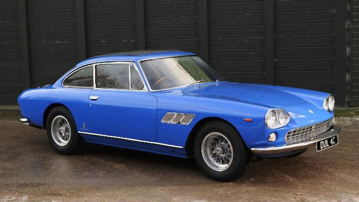 Front Right 1965 Lennon's Ferrari 330 GT Car Picture