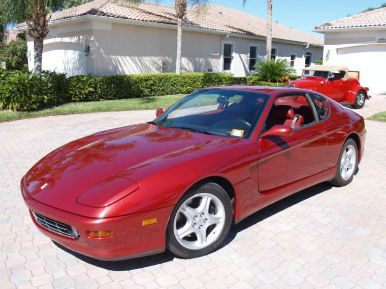 Front Left 2000 Ferrari 456 GTA Scaglietta Car Picture