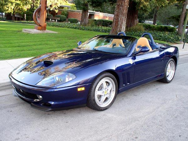 2001 Ferrari 550 Barchetta Car Picture