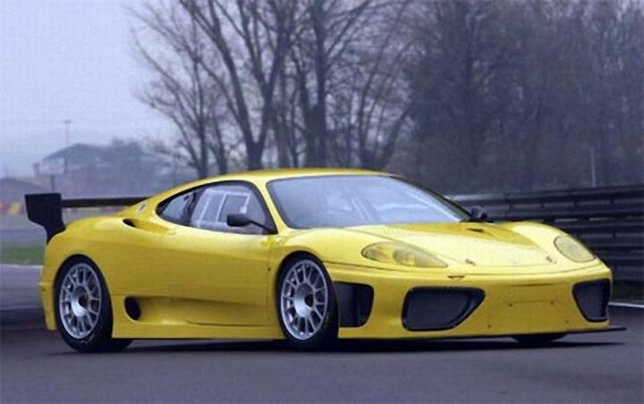 Front Right 2002 Ferrari 360 GTC Car Picture