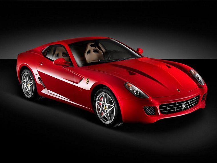 Front Right Red 2006 Ferrari 599 GTB Car Picture