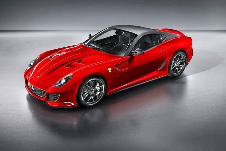 Front Left 2011 Ferrari 599 GTO Car Picture