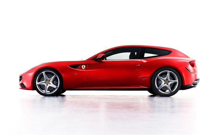 Left Side 2012 Ferrari FF Car Picture