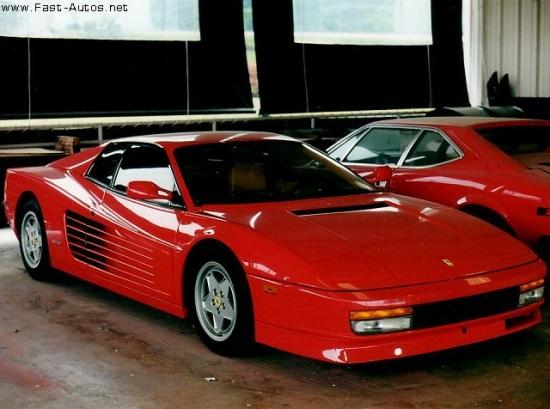 1985 Ferrari Testarossa Car Picture