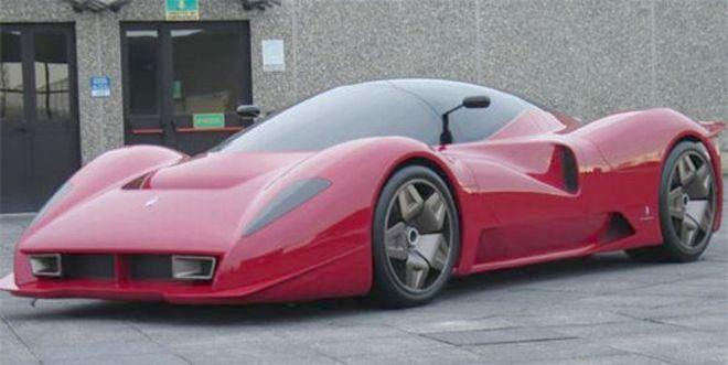 2006 Ferrari P Car Picture