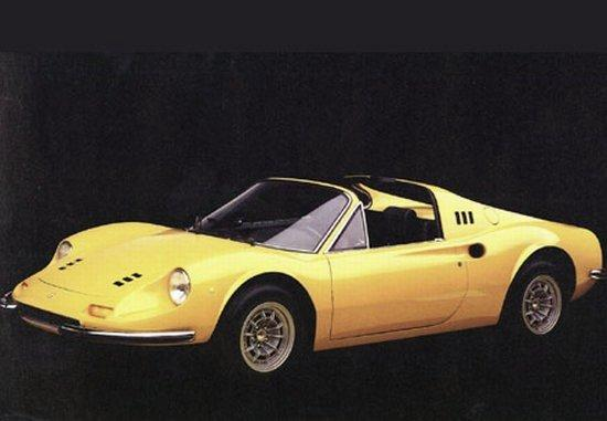 1969 Ferrari Dino Car Picture