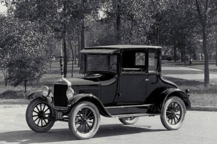 Dramatic 1926 Ford Model T Car Photo Old Ford Car Pictures