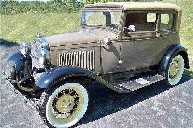 1931 Ford Model A Victoria Car Picture