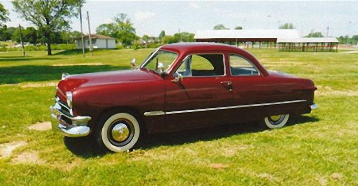 1950 Ford Club Coupe Deluxe Car Picture