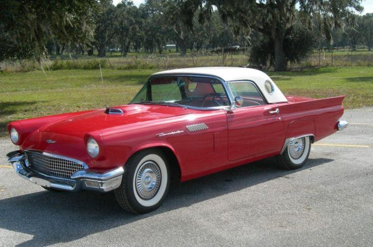 1957 Ford Thunderbird Car Picture