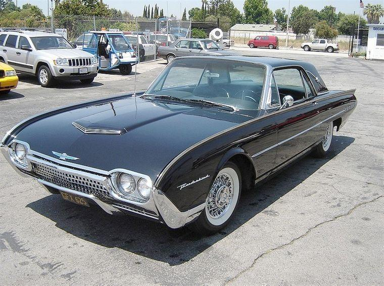 1962 Ford Thunderbird Car Picture
