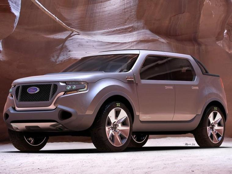 Front Left 2009 Ford Sport Trac Concept Car Picture